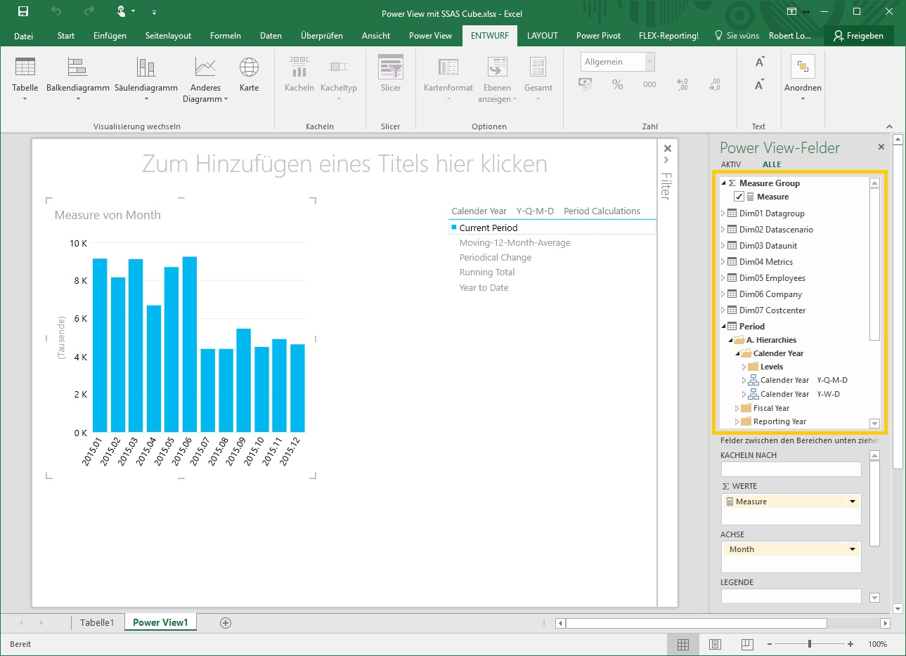 04-3 Excel 2016 Power View Auswertung Cube
