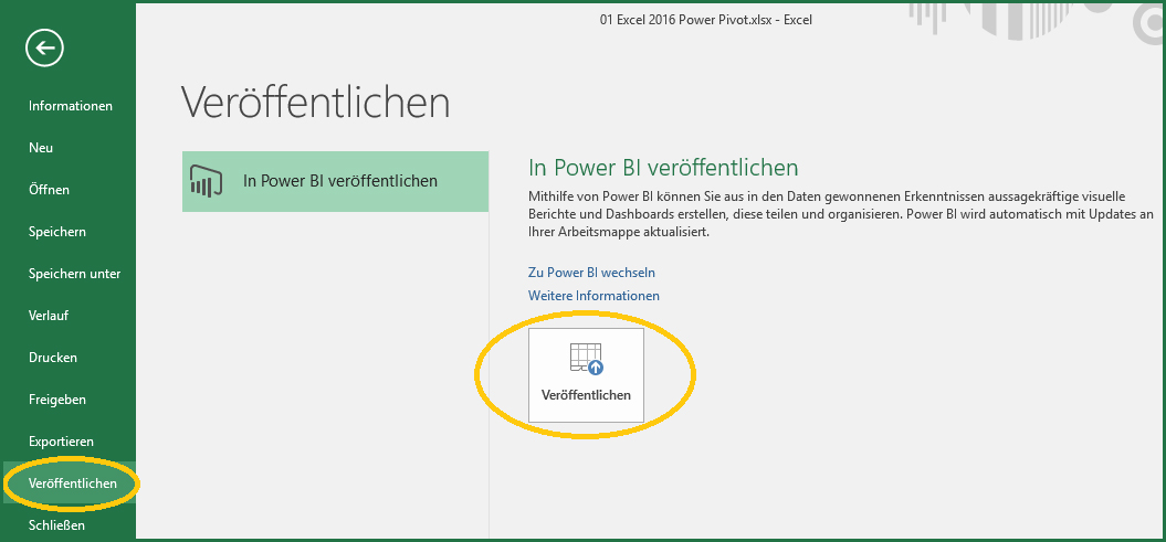 0-2 Excel 2016 Publish to Power BI