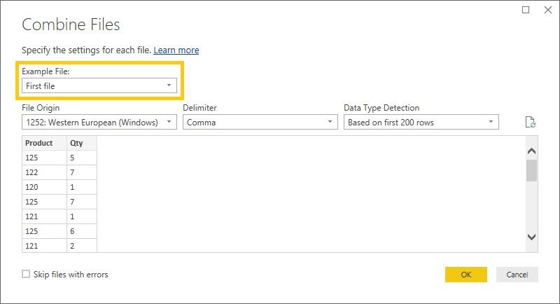 01-5 Folder Import CSV-Settings