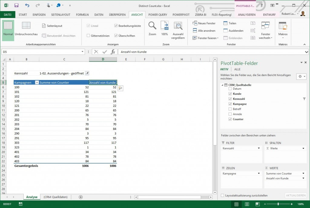 Excel Pivot Distinct Count 3