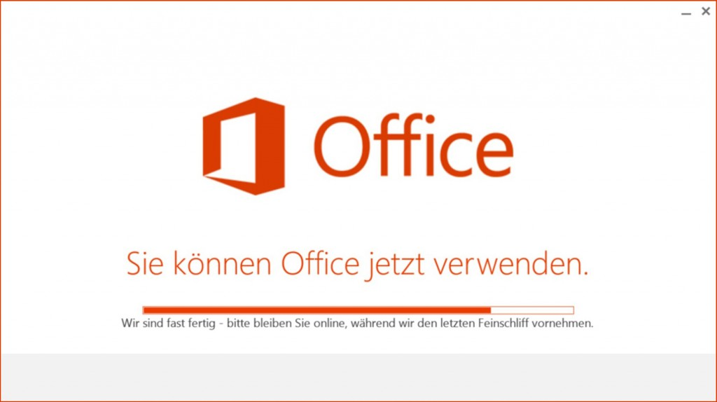 Office-Click-to-Run Screen3